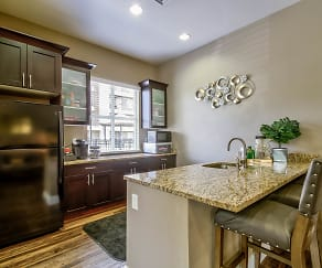 Kitchen, Legacy Crossing Apartments