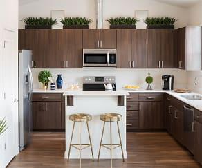 Kitchen, Bungalows on Pine Cliff