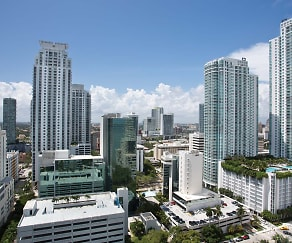 Building, Yacht Club at Brickell Apartments