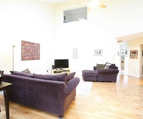 Living Room, Rosewood Condominiums
