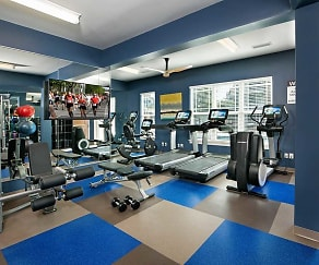 Fitness Weight Room, Bexley At Davidson