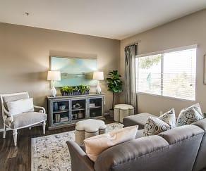 Living Room, Madrid Apartments