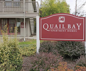 Community Signage, Quail Bay Apartments