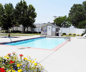 Pool, Compass Villa- Senior Living