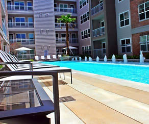 Pool, Republic at Alamo Heights Apartments