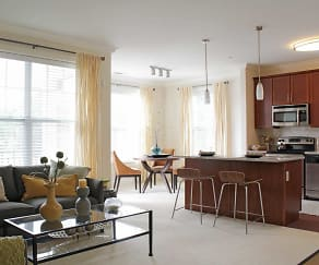 Living Room, The Residences At 299