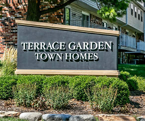 Community Signage, Terrace Garden Townhomes