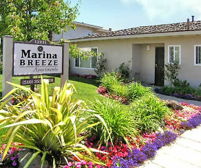 Community Signage, Marina Breeze Apartment Homes