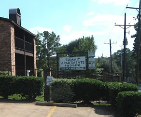 Community Signage, Summit Apartments