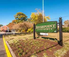 Community Signage, Riverpoint Apartments