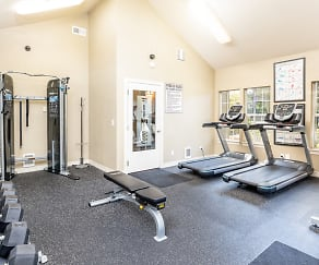 Fitness Weight Room, The Overlook at Murrayhill