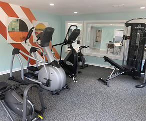 Fitness Weight Room, Vida Apartments by ARIUM
