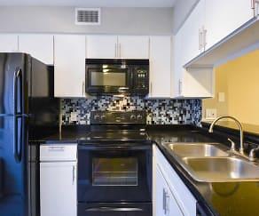 Kitchen, Village Condominiums