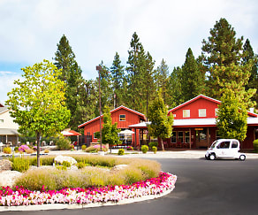 Welcoming Leasing Office, Pine Valley Ranch