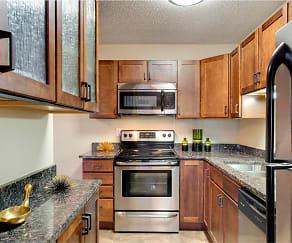 Kitchen, Cedars Lakeside