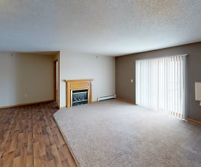 Living Room, Grand Gateway Apartments