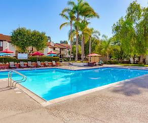 Pool, Pepperwood Apartments