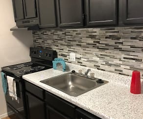 Kitchen, RedRock Apartments