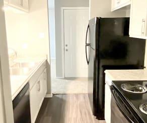 Kitchen, Meadows Apartments
