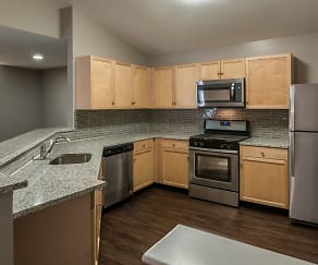 Space to entertain in our modern kitchens, Owings Park Apartments