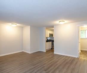 Living Room, Briar Knoll Apts