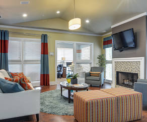Clubhouse, Wood Pointe Apartments