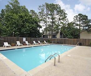 Pool, Jefferson Arms Apartments