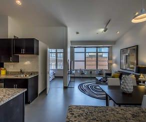Living Room, The Lofts at East Berkeley