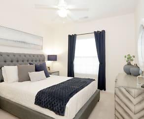 Bedroom, Windsor West Apartments