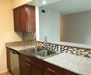 Kitchen, Barton Hills Apartments