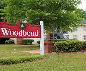Community Signage, Woodbend Apartments