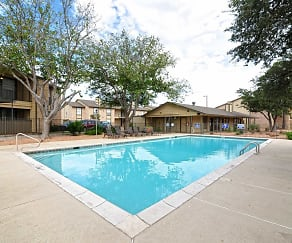 Pool, Woodview Apartments