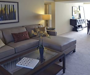 Living Room, West Towne Manor