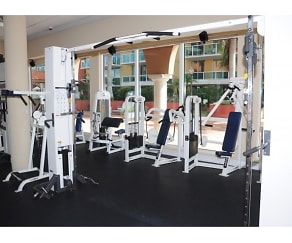 Fitness Weight Room, Intracoastal Yacht Club