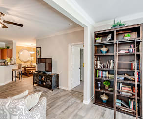 Interior-Living Room, Preston Run