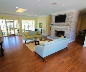 Living Room, The Flats at Seminole Heights