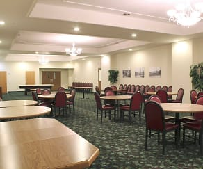 Interior-Clubhouse, Edgewater Apartments