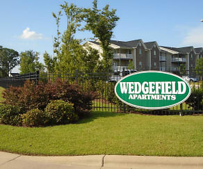 Community Signage, Wedgefield Apartments