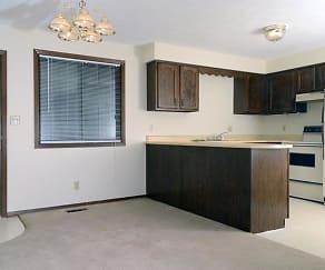 Living Room, Kingston Apartments