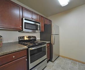 Kitchen, Coles Crossing Apartments