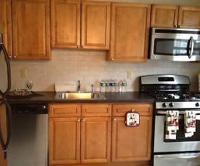 Kitchen, Park Lane Apartments