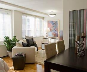 Studio Apartment Living/Dining Area, The Statesman