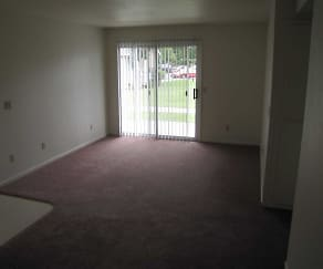 Living Room, College Park Apartments