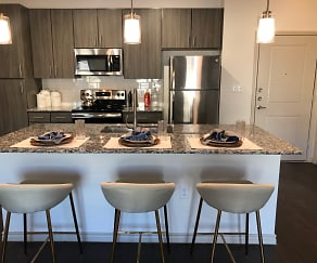 Kitchen, Aspire At Live Oak