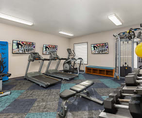 Fitness Weight Room, Verse at Royal Palm Beach