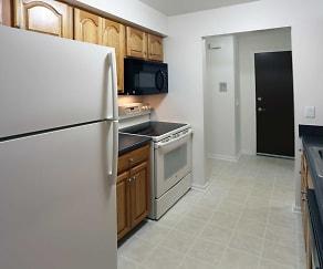 Kitchen, Brook Hill Village Apartments