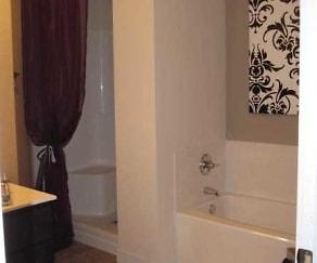 Bathroom, Mosaic Apartments