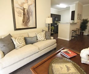 Living Room, The Reserve at Lone Oak Apartment Homes