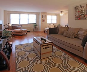 Living Room, Carlyle Towers, LLC
