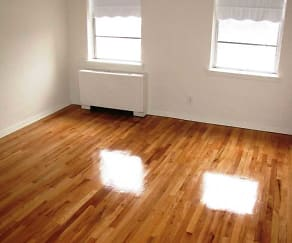 Gleaming Hardwood Floors, Linden House Apartments
